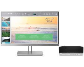 HP ProDesk 600 G3 SFF + EliteDisplay E233 7ª generación de procesadores Intel® Core™ i5 i5-7500 8 GB DDR4-SDRAM 256 GB SSD Negro