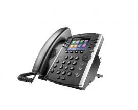 VVX 411 teléfono IP Negro Terminal con conexión por cable TFT 12 líneas - Imagen 1