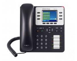 GXP2130 v2 teléfono IP Negro, Gris Terminal con conexión por cable TFT 3 líneas - Imagen 1