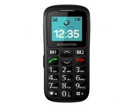 """Brigmton BTM-11 teléfono móvil 4,32 cm (1.7"""") 85 g Negro Teléfono para personas mayores - Imagen 1"""