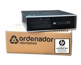 HP 8300 Elite SFF Intel Core i3 3320 3.3 GHz. · 8 Gb. DDR3 RAM · 120 Gb. SSD · 500 Gb. SATA · DVD-RW · COA Windows 7 Pro actuali