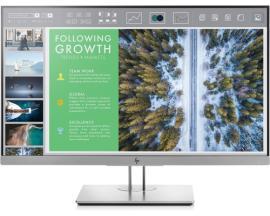 "HP EliteDisplay E243 LED display 60,5 cm (23.8"") Full HD Plana Negro, Plata - Imagen 1"