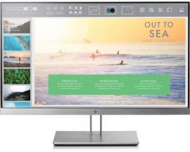 "HP EliteDisplay E233 LED display 58,4 cm (23"") Full HD Plana Negro, Plata - Imagen 1"