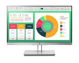 "HP EliteDisplay E223 LED display 54,6 cm (21.5"") Full HD Negro, Plata - Imagen 1"