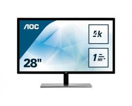 "AOC Value-line U2879VF pantalla para PC 71,1 cm (28"") 4K Ultra HD LCD Plana Negro - Imagen 1"
