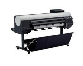 "Plotter canon ipf8400se 44""/ 2400ppp/ 384mb/ usb/ red/ 6 colores tintas pigmentadas/ pedestal - Imagen 1"