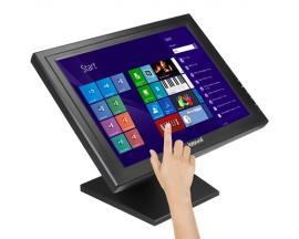 "iggual IGG315743 monitor pantalla táctil 43,2 cm (17"") 1280 x 1024 Pixeles Negro - Imagen 1"