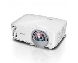 MX808ST videoproyector 3000 lúmenes ANSI DLP XGA (1024x768) Proyector para escritorio Blanco - Imagen 1