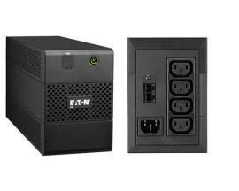 Eaton 5E850iUSB sistema de alimentación ininterrumpida (UPS) Línea interactiva 850 VA 480 W 4 salidas AC - Imagen 1