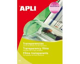 APL TRANSPARENCIAS CAJA 10UD A4 10290 - Imagen 1