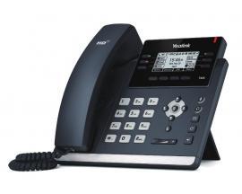 SIP-T42S teléfono IP Negro Terminal con conexión por cable LCD 12 líneas - Imagen 1