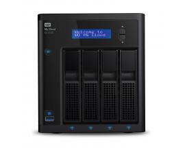 My Cloud EX4100 Ethernet Escritorio Negro NAS - Imagen 1