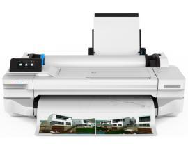 HP Designjet T125 impresora de gran formato 1200 x 1200 DPI Inyección de tinta térmica Ethernet Wifi - Imagen 1
