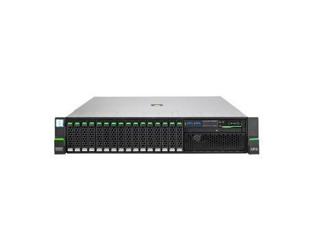 Servidor Fujitsu PRIMERGY RX2540 M4 - Intel Xeon Silver 4110 Octa-Core (8 Core) 2,10 GHz - 16 GB Instalado DDR4 SDRAM - Serie AT