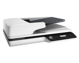HP Scanjet Pro 3500 f1 1200 x 1200 DPI Escáner de superficie plana y alimentador automático de documentos (ADF) Gris A4 - Imagen