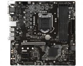 MSI B360M PRO-VDH placa base LGA 1151 (Zócalo H4) Micro ATX Intel® B360 - Imagen 1