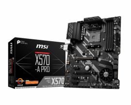MSI X570-A PRO placa base Zócalo AM4 ATX AMD X570 - Imagen 1