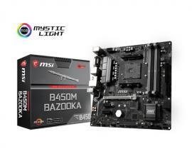 MSI B450M BAZOOKA placa base Zócalo AM4 Micro ATX AMD B450 - Imagen 1