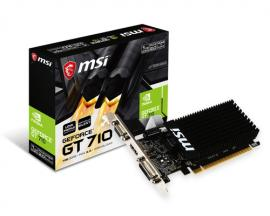 MSI GT-710-1GD3H-LP GeForce GT 710 1 GB GDDR3 - Imagen 1