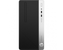 Ordenador sobremesa HP Business Desktop ProDesk 400 G4 - Intel - 4 GB DDR4 SDRAM - Microtorre - Intel Gráficos - 8 x Total puert
