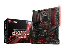 MSI MPG Z390 GAMING PLUS placa base LGA 1151 (Zócalo H4) ATX Intel Z390 - Imagen 1
