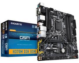 Gigabyte H370M D3H GSM placa base LGA 1151 (Zócalo H4) Micro ATX Intel® H370 - Imagen 1