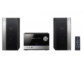 X-PM12 Microcadena de música para uso doméstico Negro 76 W - Imagen 1
