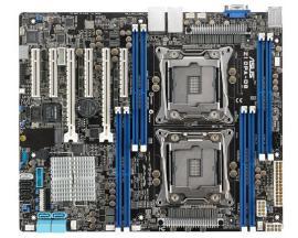 ASUS Z10PA-D8 placa base para servidor y estación de trabajo LGA 2011-v3 ATX Intel® C612 - Imagen 1
