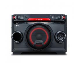 LG OK45 Minicadena de música para uso doméstico Negro, Rojo 220 W - Imagen 1