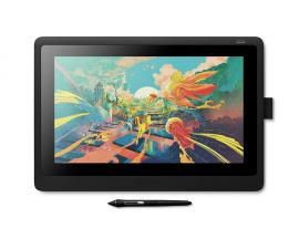Cintiq 16 tableta digitalizadora 5080 líneas por pulgada 344,16 x 193,59 mm Negro - Imagen 1