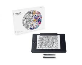 Intuos Pro Paper L South tableta digitalizadora 5080 líneas por pulgada 311 x 216 mm USB/Bluetooth Negro - Imagen 1