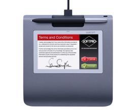PenPartner STU-530 Signature pad tableta digitalizadora 2540 líneas por pulgada 108 x 64,8 mm USB Negro, Gris - Imagen 1