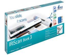 I.R.I.S. IRIScan Book 3 900 x 900 DPI Lápiz escáner Blanco - Imagen 1
