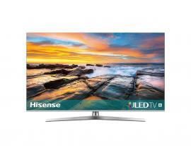 "H55U7B TV 138,7 cm (54.6"") 4K Ultra HD Smart TV Wifi Negro, Plata"