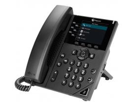 VVX 350 teléfono IP Negro Terminal con conexión por cable LCD 6 líneas - Imagen 1