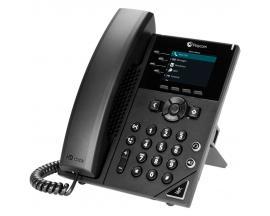 VVX 250 teléfono IP Negro Terminal con conexión por cable LCD 4 líneas - Imagen 1