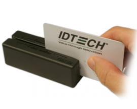 MiniMagII PS/2 Negro lector de tarjeta magnética - Imagen 1