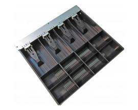 VPK-15B-5-BX bandeja para cajón portamonedas Negro - Imagen 1
