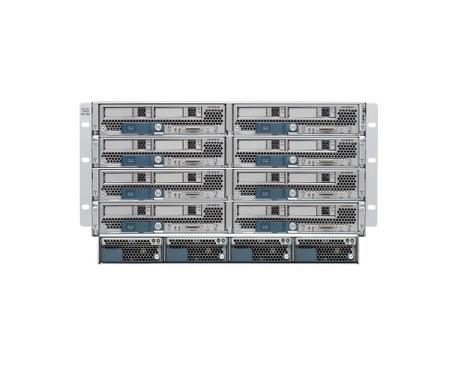 Armario para Servidor de Cuchilla Cisco UCS 5108 - Montaje en bastidor - 26U - 2,50 kW - Fuente de Alimentación Instalada - Imag