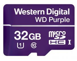 Purple memoria flash 32 GB MicroSDHC Class 10 - Imagen 1