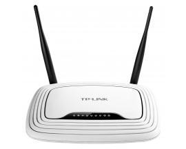 TL-WR841N router inalámbrico Banda única (2,4 GHz) Ethernet rápido Negro, Blanco - Imagen 1