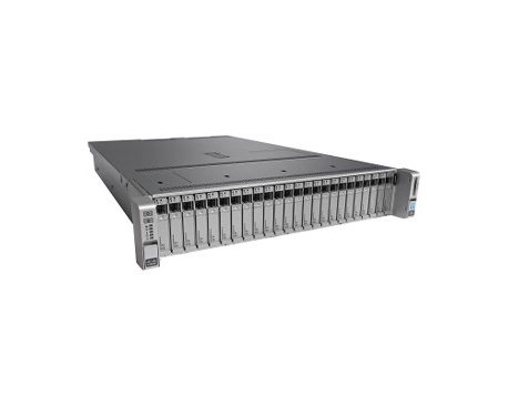 Servidor Cisco C240 M4 - 2 x Intel Xeon E5-2650 v4 Dodeca-core (12 Core) 2,20 GHz - 64 GB Instalado DDR4 SDRAM - 12Gb/s SAS Cont