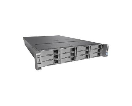 Servidor Cisco C240 M4 - 1 x Intel Xeon E5-2650 v4 Dodeca-core (12 Core) 2,20 GHz - 32 GB Instalado DDR4 SDRAM - 12Gb/s SAS Cont