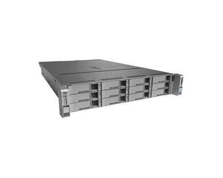Servidor Cisco C240 M4 - 2 x Intel Xeon E5-2620 v4 Octa-Core (8 Core) 2,10 GHz - 128 GB Instalado DDR4 SDRAM - Serie ATA, 12Gb/s