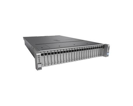 Servidor Cisco C240 M4 - 2 x Intel Xeon E5-2680 v3 Dodeca-core (12 Core) 2,50 GHz - 32 GB Instalado DDR4 SDRAM - 12Gb/s SAS, SCS