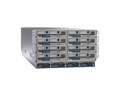 Armario para Servidor de Cuchilla Cisco UCS 5108 - Montaje en bastidor - 6U - 0 xVentilador(es) instalado - 0 - 8 x Ventilador(e