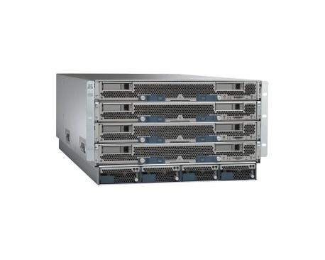Armario para Servidor de Cuchilla Cisco UCS 5108 - Montaje en bastidor - Gris - 6U - 4 x 2,50 kW - Fuente de Alimentación Instal