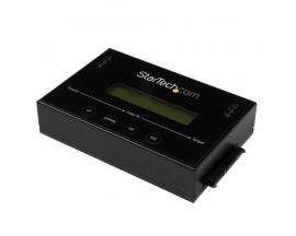StarTech.com Duplicador Clonador Autónomo Externo de Discos Duros HDD SATA de 14GBpm - Borrador Sanitizer - Imagen 1