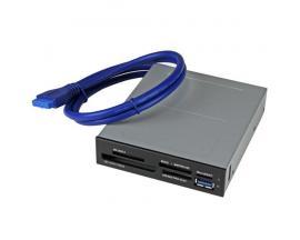 StarTech.com Lector Interno USB 3.0 para Tarjetas Memoria Flash con Soporte para UHS-II - Imagen 1