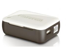 WL-357 Marrón, Color blanco router inalámbrico - Imagen 1